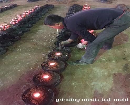producing grinding media balls